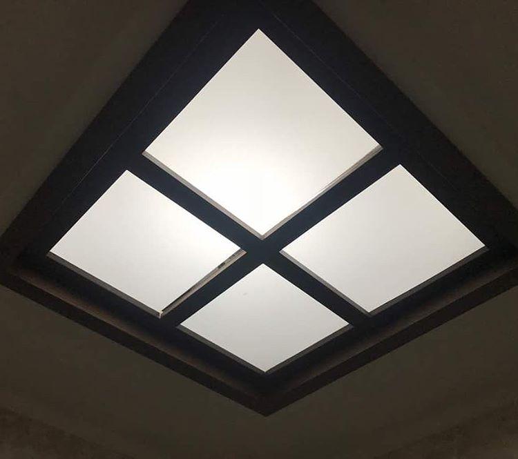 سقف کاذب پلی کربنات یا پانل
