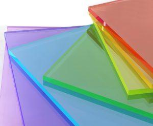 شیشه اکریلیک رنگی - طلق البرز
