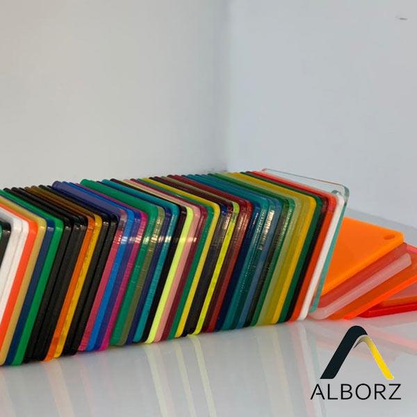 ورق پلکسی گلاس رنگی