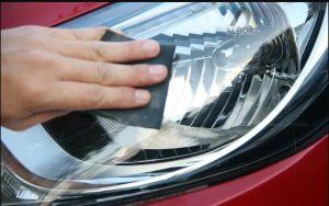 چگونگی تمیز کردن چراغهای خودرو با پولیش مناسب