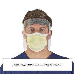 مشخصات و نحوه عملکرد شیلد محافظ صورت